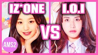 Video IZ*ONE VS I.O.I (VOCAL, DANCE, RAP, VISUAL & MORE) MP3, 3GP, MP4, WEBM, AVI, FLV Februari 2019