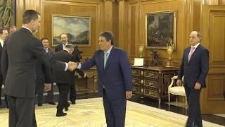 S.M. el Rey recibe en audiencia a la Junta Directiva de CEPCO
