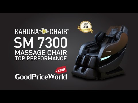 TOP PERFORMANCE KAHUNA SUPERIOR MASSAGE CHAIR WITH NEW SL-TRACK WITH 6 ROLLERS - SM-7300