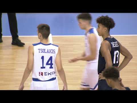 Greece vs France (FIBA U16 European Championship, 2018-2019)