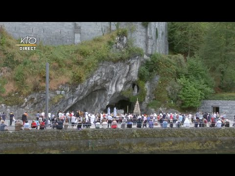 Chapelet du 23 septembre 2020 à Lourdes