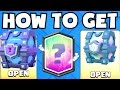 Clash Royale HOW TO GET LEGENDARY CARDS | LEGENDARY CHEST + SUPER MAGICAL CHEST LEGENDARY DROP RATE