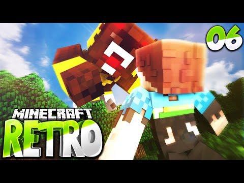 DER DRACHENKÖNIG SCHLÄGT ZU ?! • Minecraft RETRO #06 | S3 | Minecraft Roleplay Deutsch (видео)