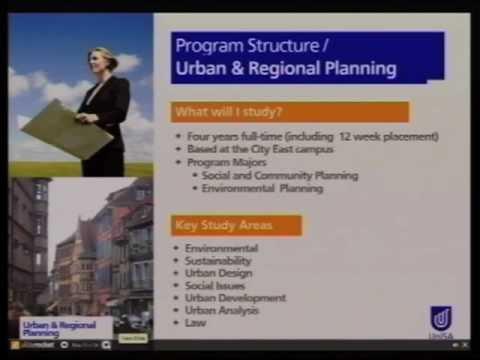 Urbanes und reagionales Planen - Offener Tag 2011 - Universität von Süd Australien