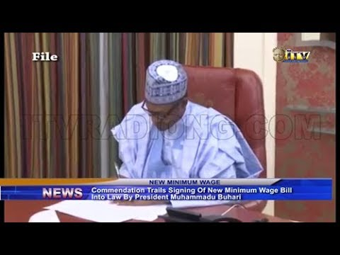 Residents Commend PMB For Signing New Minimum Wage Bill