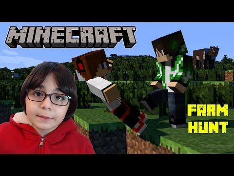 KÖTÜ AVCI TEHLİKELİDİR - Minecraft Farm Hunt - BKT