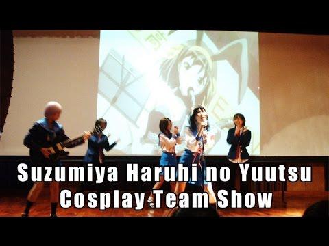 Suzumiya Haruhi no Yuutsu Cosplay Team Show