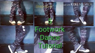 Video 5 Footwork Dance Tutorial MP3, 3GP, MP4, WEBM, AVI, FLV Agustus 2019