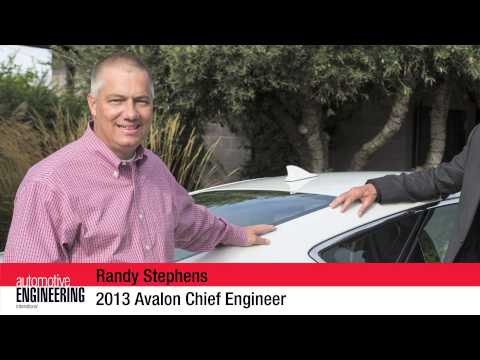 2013 Toyota Avalon styling considerations