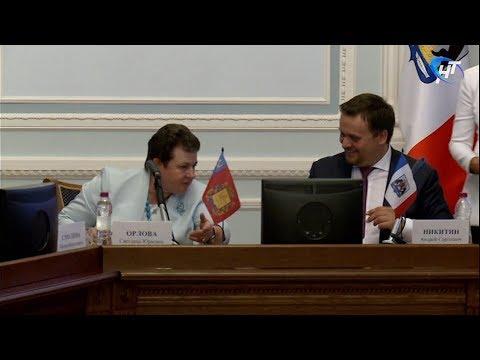 Новгородская и Владимирская области подписали «дорожную карту» сотрудничества