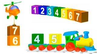 Развивающие Мультики - Малыш, улыбнись! Учимся считать от 1 до 10. Цифры для детей.