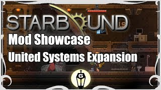 Today's mod showcase takes another look at the United Systems Expansion and the new missions it adds.Find all the Starbound mods used in this series here: http://steamcommunity.com/sharedfiles/filedetails/?id=746126923Find more from the Starbound Mod Showcase here: https://www.youtube.com/playlist?list=PLyxByeNdXbHjYMT4tQXxJMr-UcKrW91YkThanks for watching! Consider hitting the like button and subscribing to keep up with all the latest content.Links:Channel - http://www.youtube.com/c/GamingByGaslight1Facebook - https://www.facebook.com/GamingByGaslight1Twitter - https://twitter.com/gamesbygaslightGoogle+ - https://plus.google.com/b/102054087334685624913/+GamingByGaslight1/aboutMusic by Tobuhttp://www.youtube.com/tobuofficialSteambound Reloaded: http://community.playstarbound.com/resources/steambound-reloaded.3350/       https://steamcommunity.com/sharedfiles/filedetails/?id=745573454