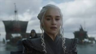 Game Of Thrones - 7x01 - Daenerys Arrives At Dragonstone