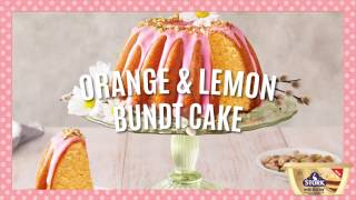 Orange Lemon Bundt Cake