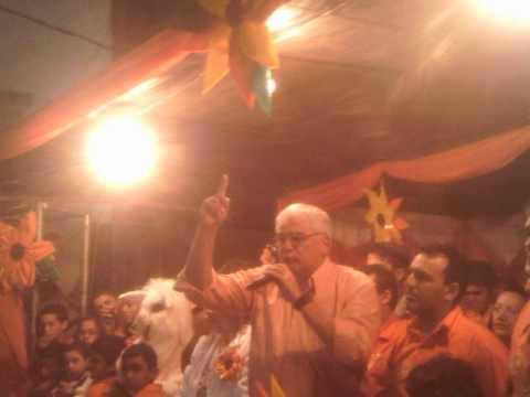 Comício em Arara de Nen com Efraim Morais  27/09/2012