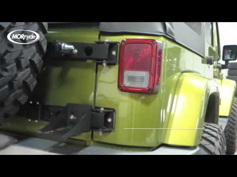 Jeep JK Hi-Lift Carrier Installation