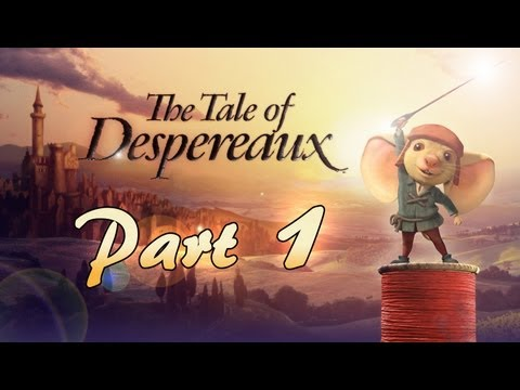 The Tale of Despereaux (Wii, PS2) Playthrough / Walkthrough Chapter 1