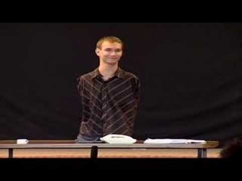 Nick Vujicic's Inspirational Talk-Life Without Limbs 1 of 4