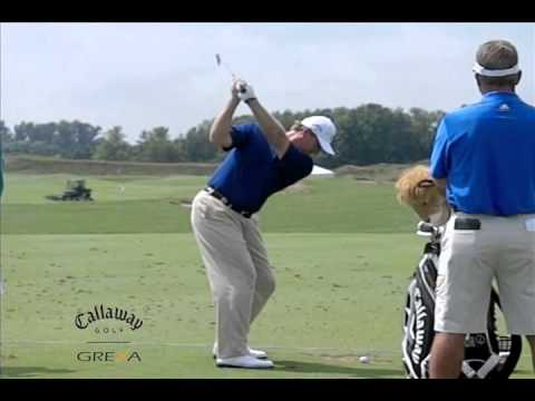 Slow Motion Golf Swing : Ernie Els