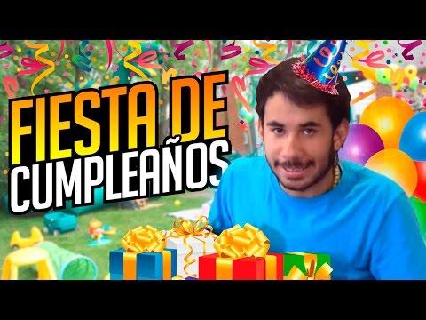 FIESTA DE CUMPLEAÑOS!