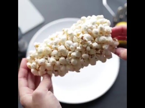 我一直以為自製爆米花很複雜,但是看了這個只需3分鐘的「微波爆米花」才發現簡單到爆!