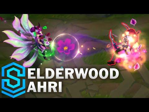 Elderwood Ahri - Ahri Thần Rừng