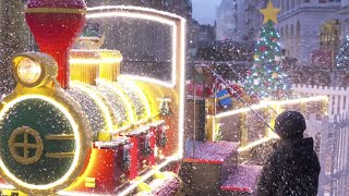 LEGO® Time-Lapse - See the magic behind the LEGO® Santa Express