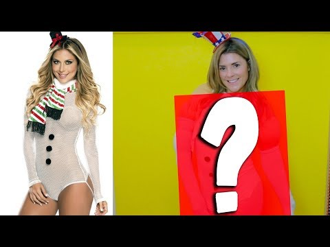 DIY SEXY HOLIDAY LINGERIE // Grace Helbig