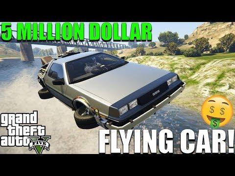$5,000,000 FLYING CAR! KAYKAYES PLAYS GTA V