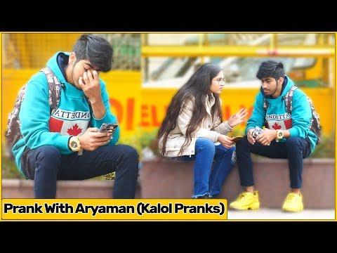 Tu Channel Chodd De Prank With Aryaman (Kalol Pranks)| The Prank Express | Khyati Sharma