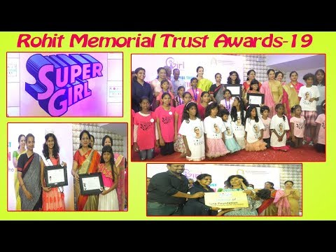 Rohit Memorial Trust Awards-19 Mentor a girl for life Meet the super girls in Visakhapatnam,Vizag Vision...