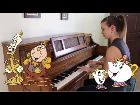 Be Our Guest - Beauty And The Beast - Disney Ragtime Piano Cover