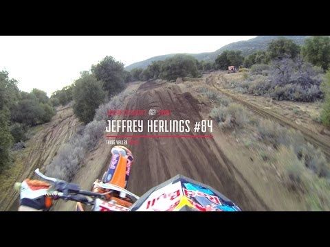 WK titel Herlings en Honda CRF 250R model 2014 test in Loket