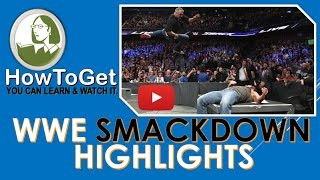 Nonton WWE SMACKDOWN LIVE 21 March 2017 HDTV HIGHLIGHTS Film Subtitle Indonesia Streaming Movie Download