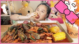 Video SPICY SEAFOOD BOIL | MUKBANG MP3, 3GP, MP4, WEBM, AVI, FLV Maret 2018