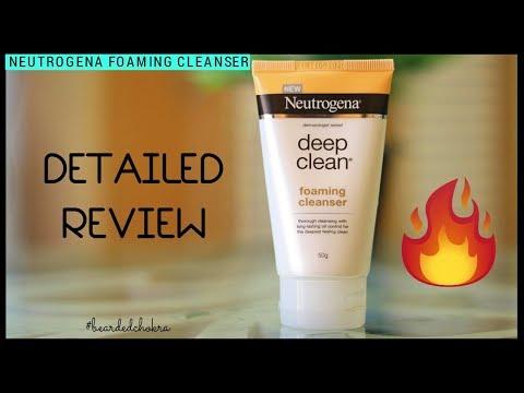 Beard oil - Neutrogena Face Wash Review  Bearded Chokra