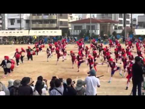 2015 天久小学校 運動会 エイサー レキオス