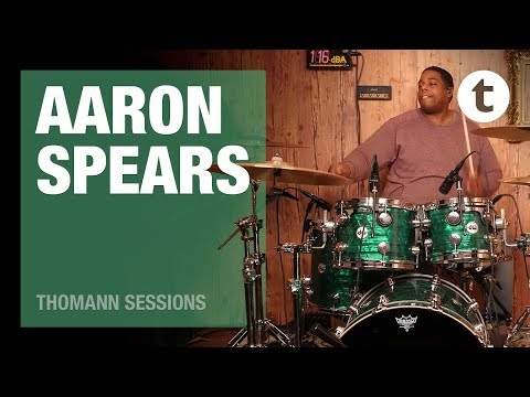 Aaron Spears | Drum Playthrough | Thomann Sessions