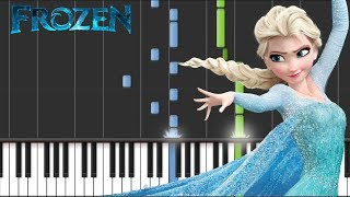 Disney's Frozen - Let It Go - Advanced Piano Tutorial + Sheets