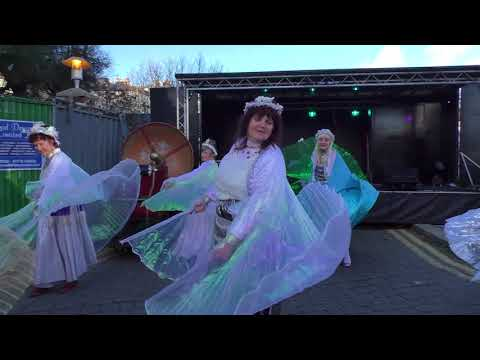 The Iceni Belly Dancers at the St Leonards Frost Fair 2017