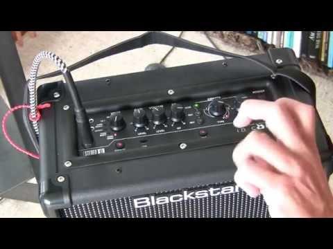Blackstar Einsteiger Gitarrenverstärker Test - 99,- Euro 1A Übe Amp