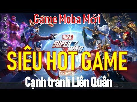 Siêu Hot game Moba mới Siêu anh hùng Marvel đại chiến - Fan Marvel nên chơi - Thời lượng: 20:19.