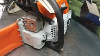 9. West Coast Muscle Saws MS 291 test exhaust