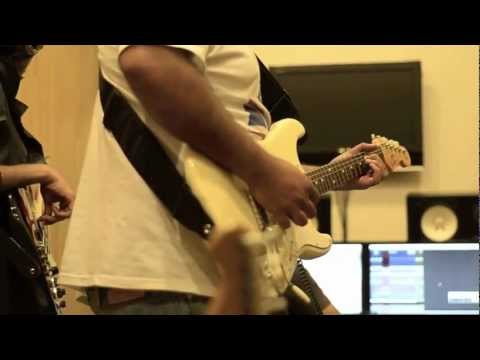 Black Strat Blues in session with Rolling Stones India