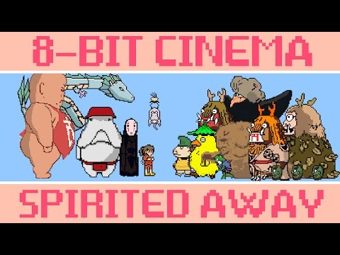 Hayao Miyazaki s Spirted Away As An 8Bit Video