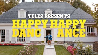 <h5>Tele2: Happy Happy Dance Dance &lt;br&gt; Henry Scholfield / Caviar Content</h5>