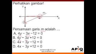 Video Gradien Garis - Gambar Persamaan Cara Cepat Jurus 7 Detik Matematika Paman APIQ MP3, 3GP, MP4, WEBM, AVI, FLV November 2017