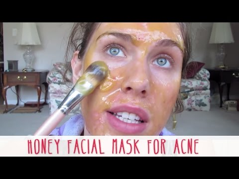 acne facial homemade