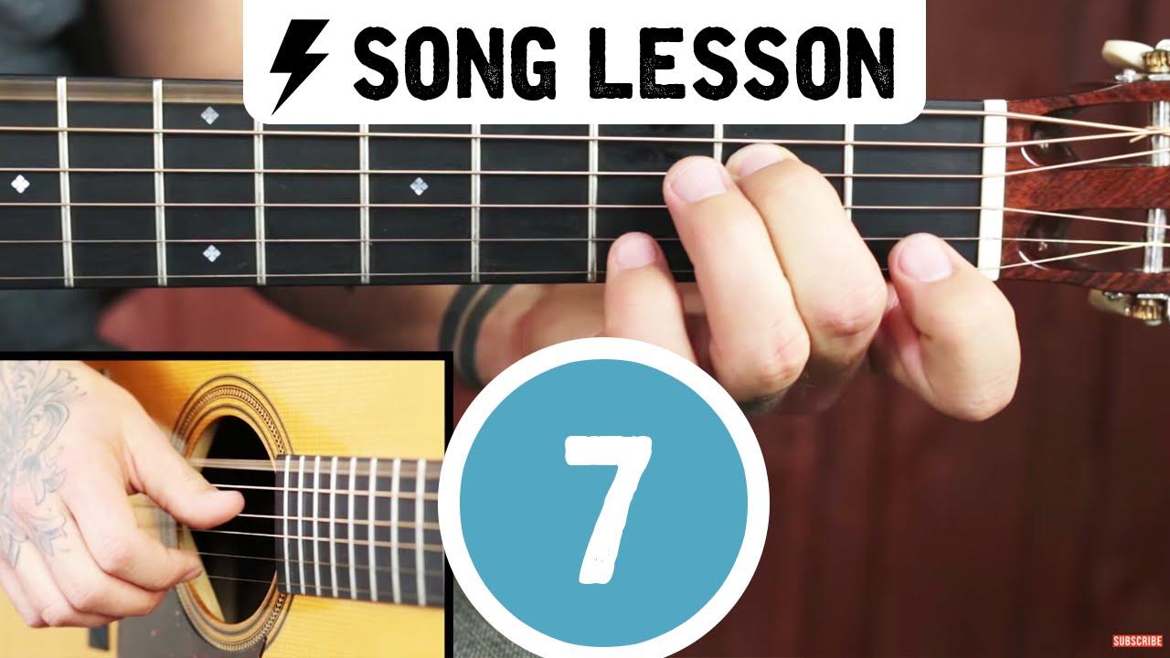 Beginner Fingerstyle Guitar Lesson ➜ Learn Freight Train!