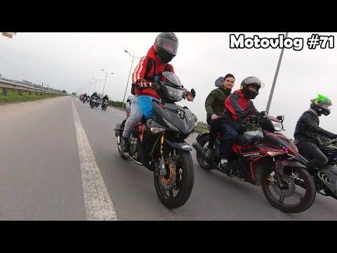 Đóng Exciter 150 về Hà Nam mừng cưới thằng em thân thiết | Motovlog 71 - Thời lượng: 10 phút.